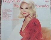 Sultry Peggy Lee Big Spender LP 1966
