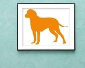 Finnish Trackhound Art Print