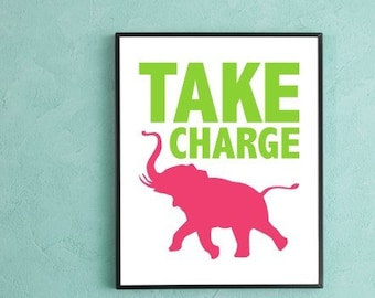 Take Charge Poster
