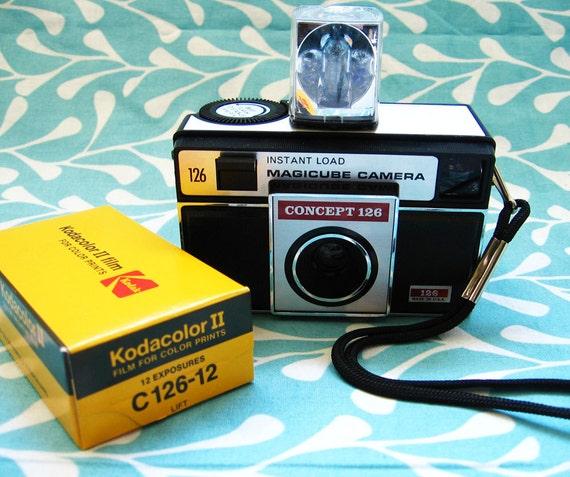 Camera Kit - Kodak Concept 126 New in Box - 1970s