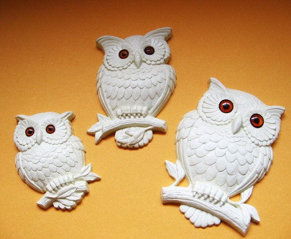 Owls Family Wall Hanging