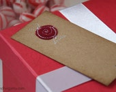 Gift tags - peppermint candy - 6pc