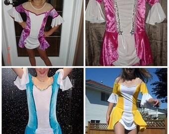 Figure skating dress - Velvet Princess style dress