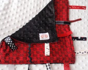 SlugBug VW Car Blanket with ribbons