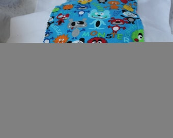 Monster Madness Burp Cloth