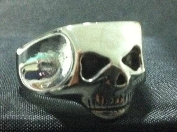 Johnny Depp Skull Ring Exact Jack Sparrow Solid By Itz8686