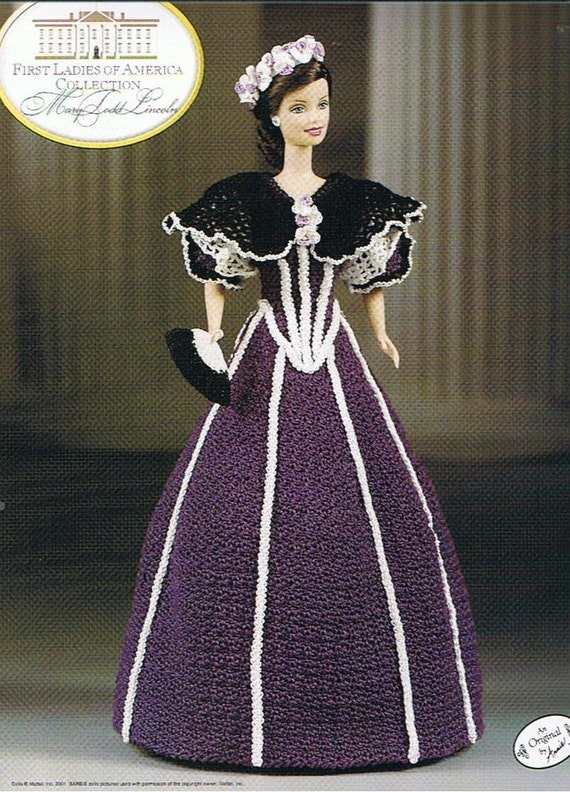 Mary Todd Lincoln First Ladies Of America Fashion Doll