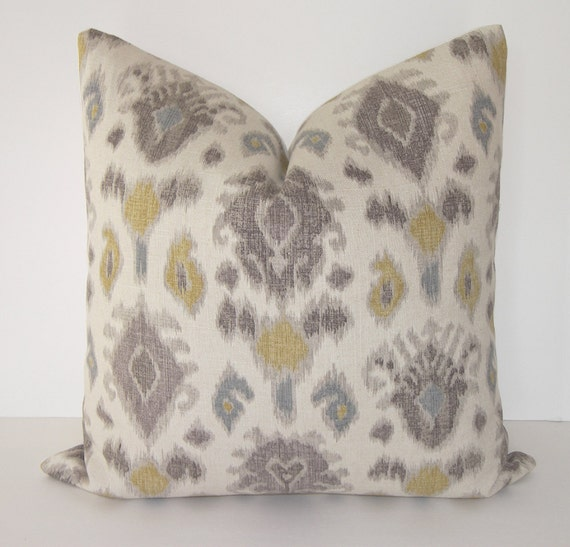 Items Similar To Euro Sham Decorative Designer Ikat
