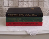 Set of Three Decorative Novels - Some of your Favorite Writers