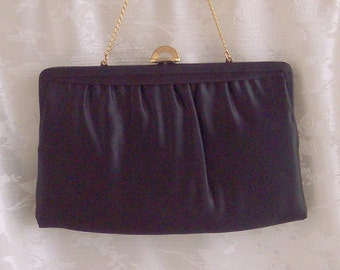 Vintage Mardane Satin Convertible Clutch