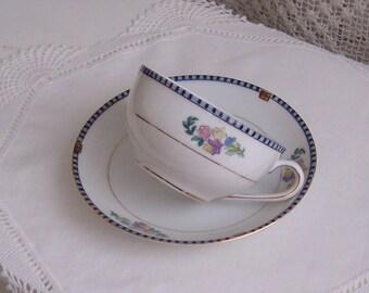 Sheridan Tea Cup and Saucer by Noritake