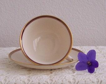 Franciscan China Sunset Teacup and Saucer
