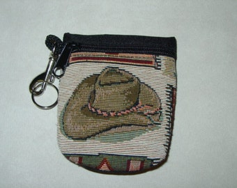 CowBoy Boots Tapestry  Belt Pack/Key Chain Combo