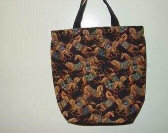 Arabian Mythical Horse Blanket Tapestry Kooler Bag Shopping Bag