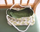 Avocado, Market, Beach Workout, Dance Crocheted LIned Bag