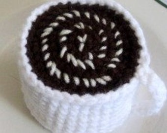 Crochet Cup of Hot Chocolate