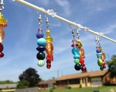 Mismatched Rainbow Earrings