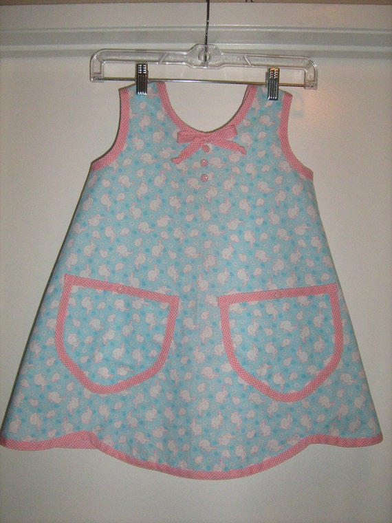 Hippity Hoppity Easter's On Its Way Child's Apron