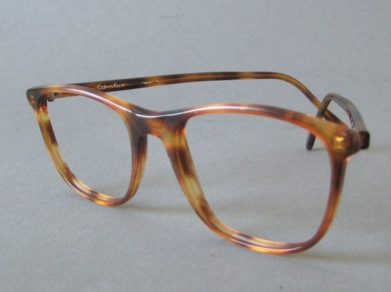 Vintage Calvin Klein Tortoise Shell Eyeglasses