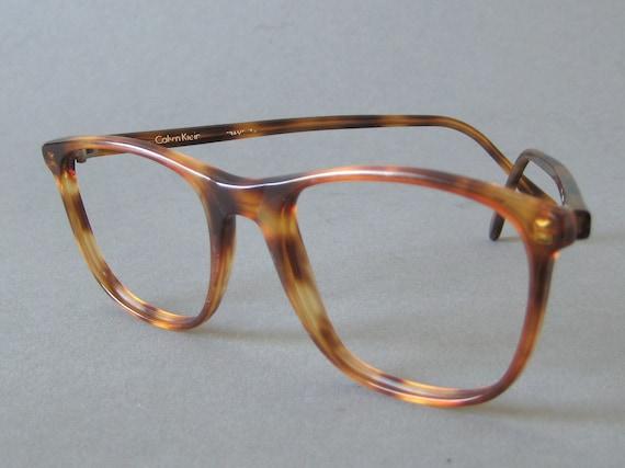 Vintage Tortoise Shell Eyeglass Frames : Vintage Calvin Klein Tortoise Shell Eyeglasses by ...