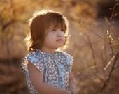 Childrens Dress Angel Dress in Wallflower