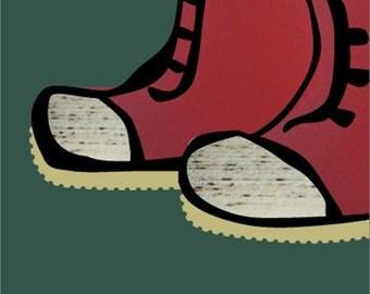 Kid boots no. 1