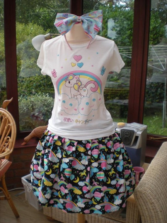 Kawaii Harajuku Cute as Candy T-shirt SMALL ONLY