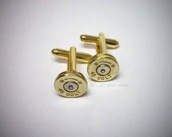 Bullet Cufflinks / Colt 45 Starline Bullet Cufflinks SL-45C-BN-CL / Colt 45 Cufflinks / Starline Cufflinks / Wedding Cufflinks / Custom