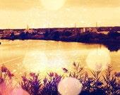 Late Summer Sky, 8X12