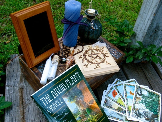 RESERVED for Eloise- Ultimate Hedgewitch Divination Kit
