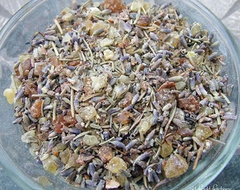 Sacred Space Purification Herbal Incense Blend 1/2 ounce Purify Bless Consecrate