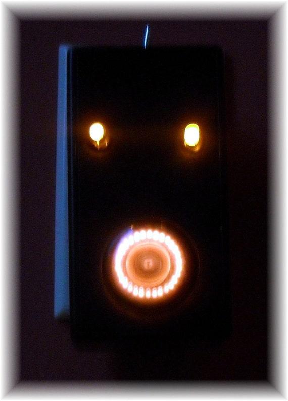 "Dekatron Spinner Neon Night Light  ""Blinky Eyes"""