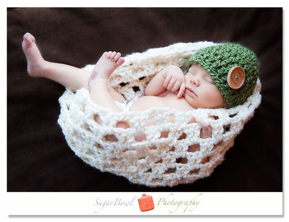 PDF Crochet PATTERN Nesting Egg/ Bowl Photo Prop