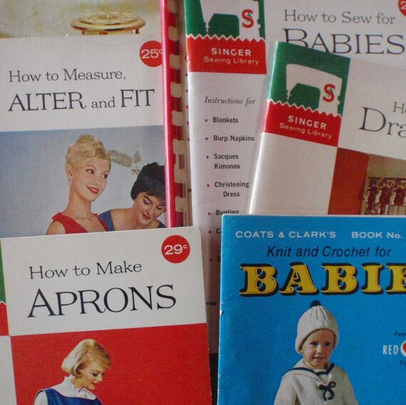 Vintage Sewing Books