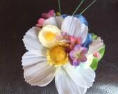 Spring Libertas Floral Hair Clip