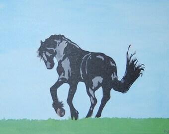 Original Painting: The Mustang