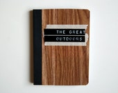 The Great Outdoors Mini Notebook in Wood Grain