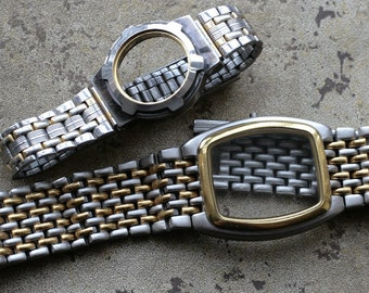 Wrist watch bracelets with empty cases -- D5
