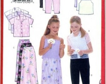 Butterick Pattern 6038 Girls Clothes FREE SHIPPING