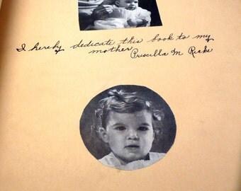 DIONNE QUINTUPLETS - school project - scrapbook - child care assignment - inspiration book