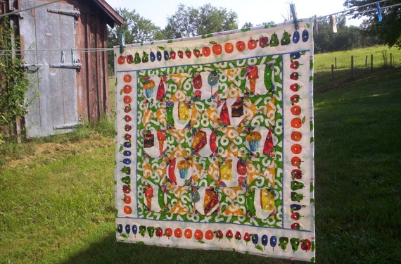 The Very Hungry Caterpiller Quilt