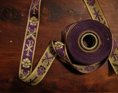 Reserved - 9 yards of purple religious trim