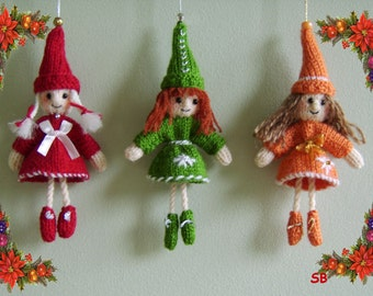 Bell Elves  Pattern only IMMEDIATE DOWNLOAD