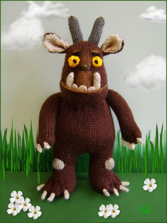 Gruffalo Knitting Pattern Only Immediate Dowload