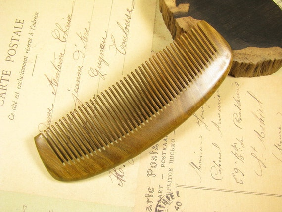 Fragrant Verawood Hair Care Comb Hairstyle