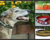 Martingale Collar upgrade to convert a Side Release buckle collar to a Martingale style collar in matching loop