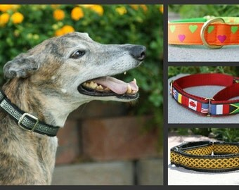 Martingale Collar upgrade to convert a Side Release buckle collar to a Martingale collar in matching loop no buckle.