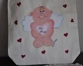 Cupid tote gift bag