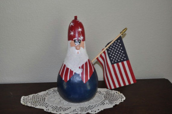 Uncle Sam Gourd