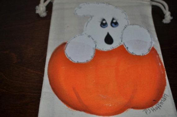 Ghost Pumpkin Gift Bag